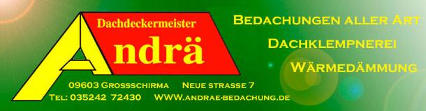 Dachdeckermeister Andrä - Logo