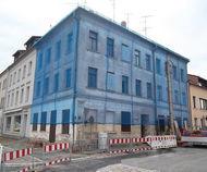 Gebäudesicherung auf der Hainstraße in Glauchau