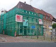 Gebäudesicherung in Nossen auf dem Markt