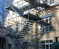Stadt Chemnitz: Rettungstreppe am Krankenhaus Rabenstein